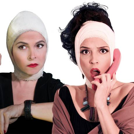 Elenco da peça 'Lifting - uma comédia cirúrgica Foto: Divulgação