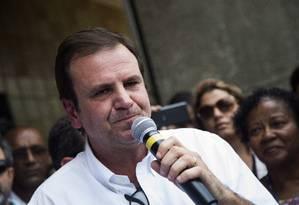 Paes respondia a processo por licenciamento de campo de golfe (Arquivo) Foto: Bárbara Lopes / Agência O Globo