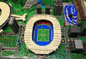 Exposição Lego na Cidade das Artes, na Barra da Tijuca Foto: Agência O Globo