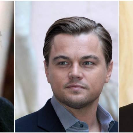 Brad Pitt e Leonardo di Caprio atuam juntos em novo filme de Tarantino Foto: Infoglobo