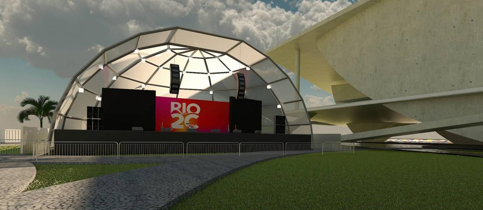Artistas e bandas vão se apresentar no evento em abril na Cidade das Artes, no Rio Foto: Divulgação
