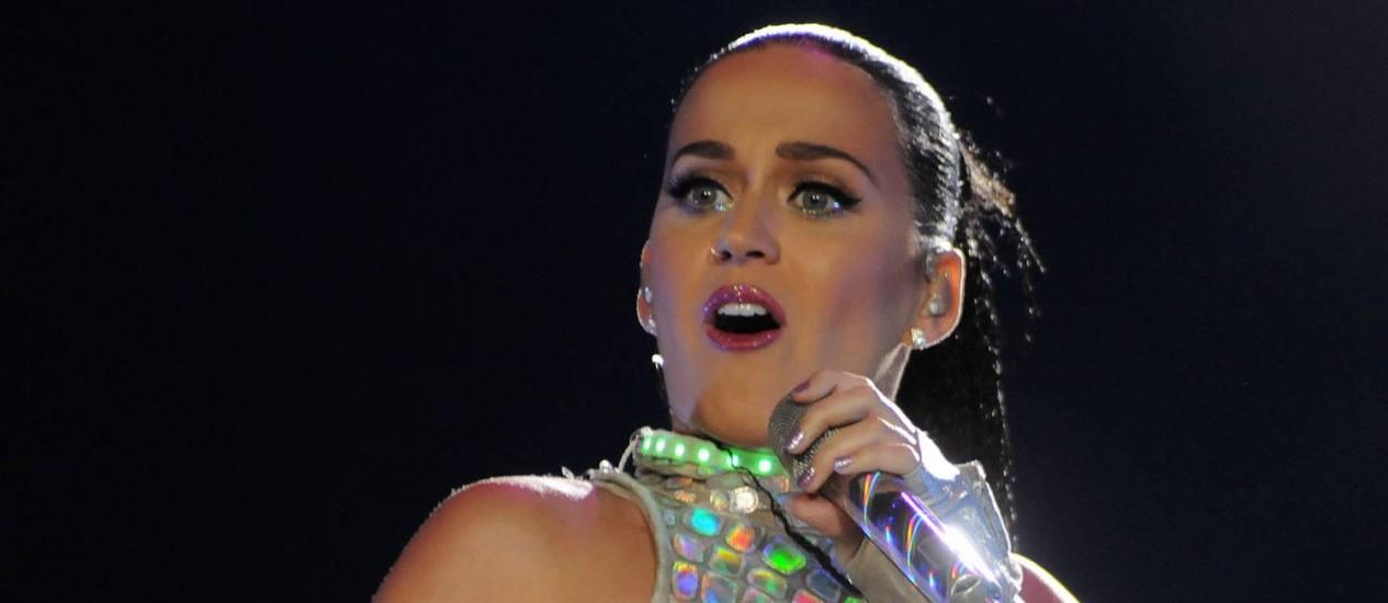 Katy Perry vai se apresentar na Apoteose no dia 18 de março Foto: Divulgação