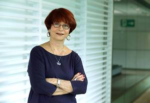 Julita Lemgruber, ex-diretora do Departamento do Sistema Penitenciário no Rio Foto: Marcelo Theobald / Agência O Globo (02/02/2017)