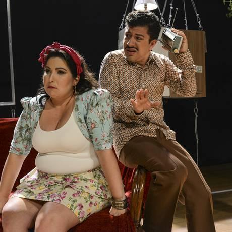 Mariana e Paulo Mathias interpretam um casal em crise Foto: Divulgação/Ana Rodrigues