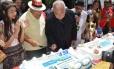 Dom Orani Tempesta na cerimônia de aniversário do Rio, no Largo da Carioca