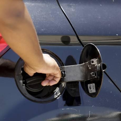 Venda de combustível Foto: Foto de Gabriel de Paiva / Agência O Globo