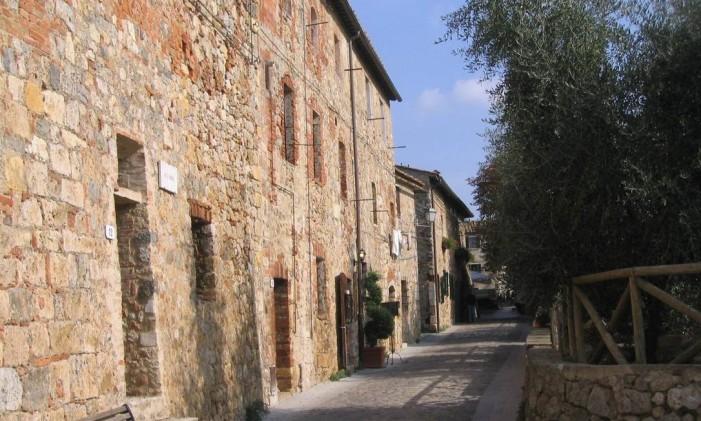 Monteriggioni: inspiração para poesias e games Foto: Vivian Oswald