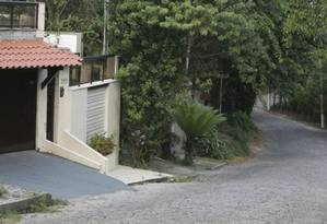 Acesso. Na Rua Uruguai estava prevista uma cancela Foto: Roberto Moreyra