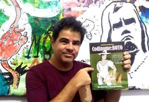 Realismo fantástico: André Barroso mostra a nova obra que se passa em ilha no Rio de Janeiro. Foto: Divulgação