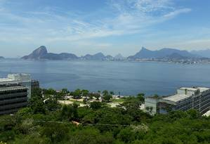 Vista do topo do Morro do Gragoatá Foto: Divulgação/Wanise Cabral