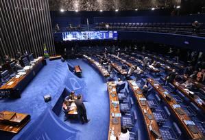 Projeto foi apresentado no Senado em 2016, após a tragédia em Mariana (MG) Foto: Ailton de Freitas / Agência O Globo / 7-2-18