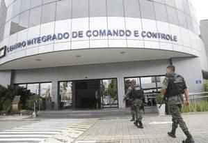 Centro Integrado de Comando e Controle (CICC), na Cidade Nova, foi eleito o quartel-general das tropas federais 27/02/2018 Foto: Gabriel Paiva / Gabriel Paiva