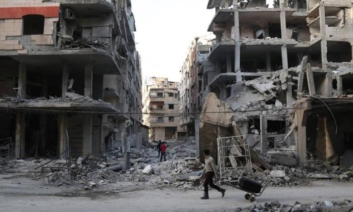 Bombardeios deixam civis mortos em Ghouta Oriental, na Síria, diz OSDH