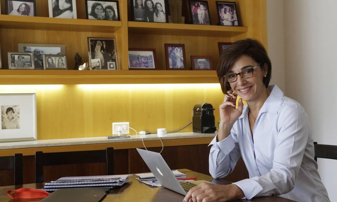 Anna Vianna: preparação envolve pesquisa sobre a família dos atores Foto: Gustavo Miranda / Agência O Globo