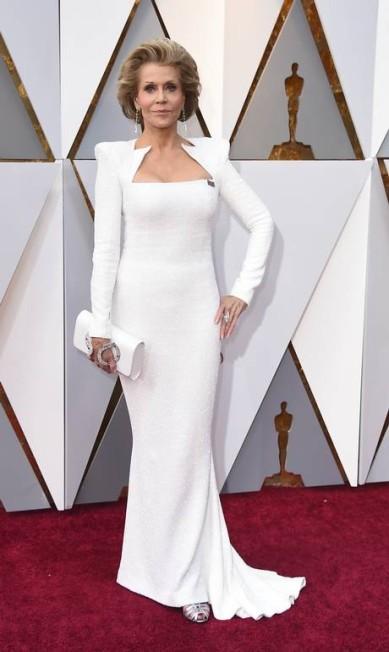 A atriz Jane Fonda Jordan Strauss / Jordan Strauss/Invision/AP