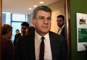 O senador Romero Jucá (PMDB-RR) Foto: Givaldo Barbosa / Agência O Globo