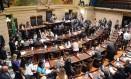 Vereadores em sessão ordinária da Câmara do Rio em 27/02/2018 Foto: Renan Olaz / Divulgação CMRJ