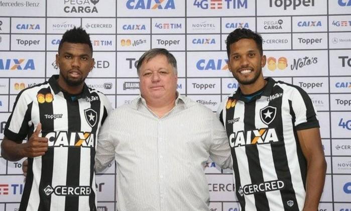 Marcelo e Yago são apresentados e podem estrear contra Bangu