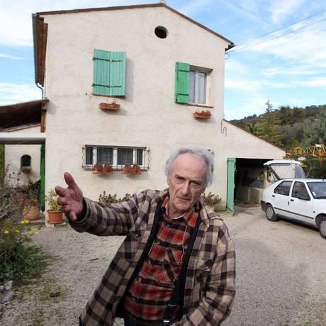 O eletricista francês Pierre Le Guennec acusado de ocultar 271 obras de Picasso Foto: Valery Hache / AFP