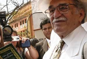 Gabo morreu em 2014 aos 87 anos Foto: Infoglobo