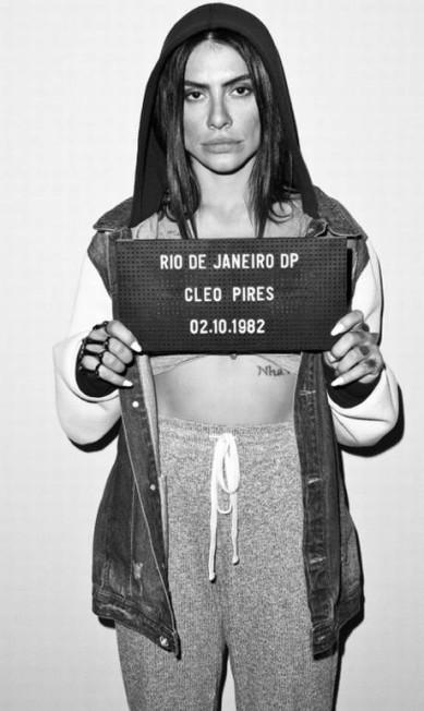 Cleo: atriz já foi fotografada para o Mugshot Project Paulo Reis