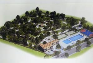 Crivella quer construir parque na Cidade de Deus nos moldes do Parque Madureira Foto: Divulgação