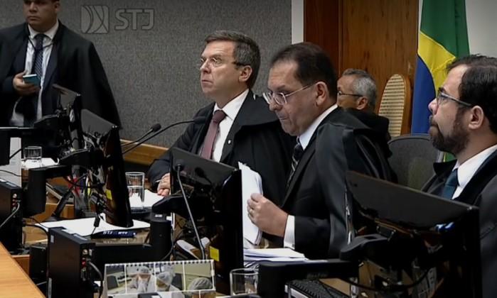 Maioria do STJ votou por negar o habeas corpus preventivo ao ex-presidente Lula Foto: Reprodução