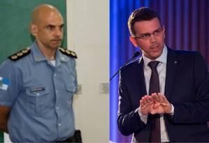Ex-comandante do Bope vai assumir a PM, e diretor da DH será o novo chefe da Polícia Civil Foto: Divulgação UPP / Agência O Globo