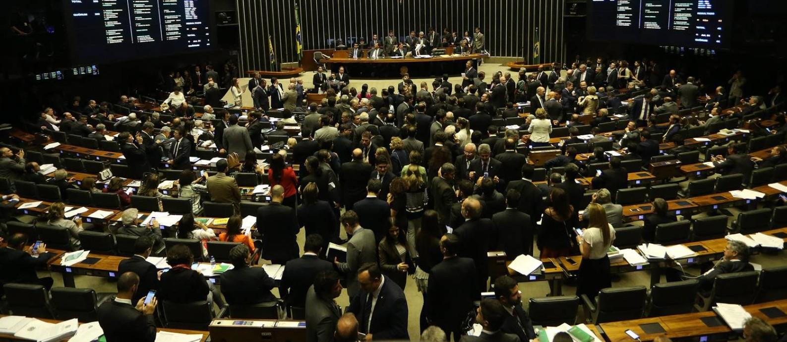 Congresso Nacional é dominado por homens Foto: Ailton de Freitas / Agência O Globo/22-11-2017
