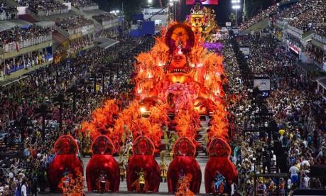 Salgueiro desfilou na segunda-feira de carnaval Foto: Fernando Grilli | Divulgação Riotur
