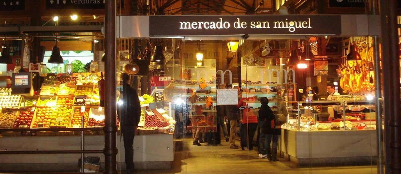 Mercado San Miguel: ideal para conhecer a gastronomia espanhola e degustar excelentes tapas Foto: Divulgação