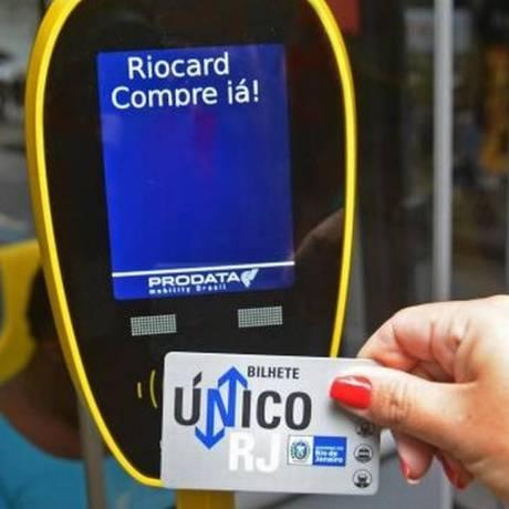 Segunda via de RioCard roubado passa a ser gratuita após aprovação dos parlamentares Foto: Henrique Freire