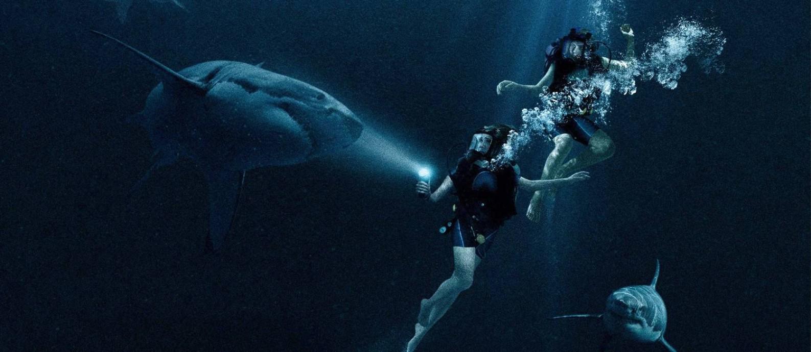 Cena do filme 'Medo profundo' Foto: Divulgação