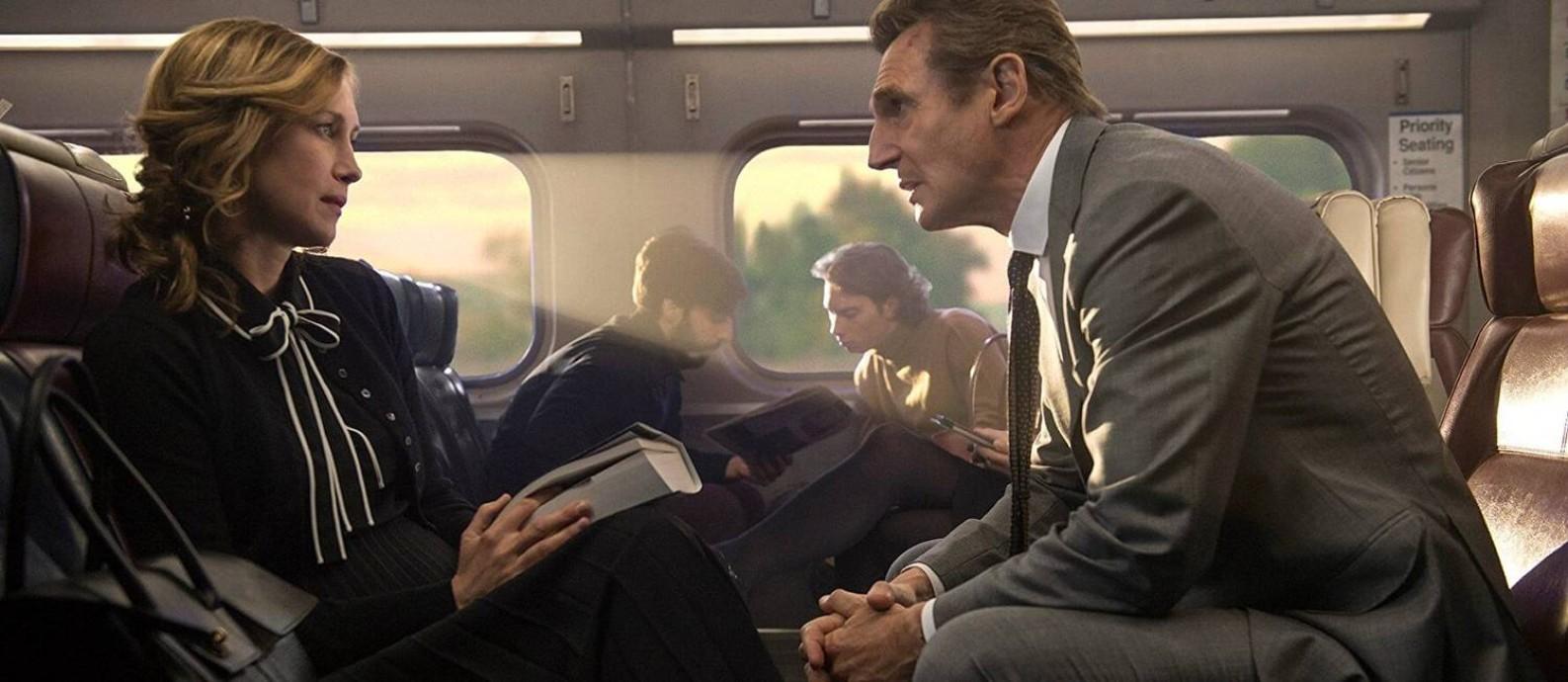 Cena do filme 'O passageiro' Foto: Divulgação