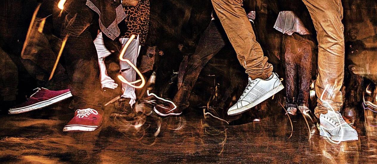 Funk carioca acelera de 130 para 150 bpm sob as mãos do DJ Polyvox Foto: Stefano Martini / Agência O GLOBO
