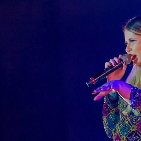 Cantora Marília Mendonça é a artista feminina mais ouvida no Brasil no Spotify em 2017 Foto: Infoglobo