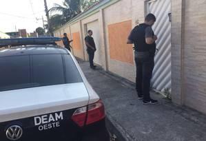 Polícia cumpriu mandados de prisão e busca e apreensão Foto: Divulgação