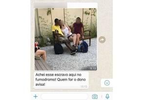 Aluno da FGV foi vítima de racismo por outro estudante da mesma instituição Foto: Redes sociais/Reprodução