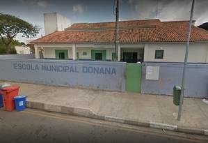 Escolas municipais de Campos suspenderam as aulas nesta sexta Foto: Google Maps
