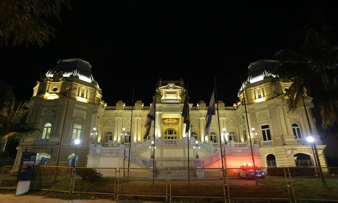 Palácio Guanabara, em Laranjeiras, sede do governo estadual Foto: Pedro Teixeira/Agência O Globo/10-01-2018