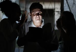 O psicólogo Leonardo Bastos, responsável pelo grupo de ouvidores de Campinas: segundo ele, a pessoa que ouve vozes já se vê em um manicômio Foto: Marcos Alves