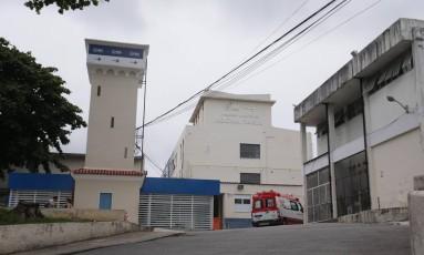 Hospital Rocha Faria, em Campo Grande. Imagem de 28/12/2017 Foto: Márcio Alves / Agência O Globo