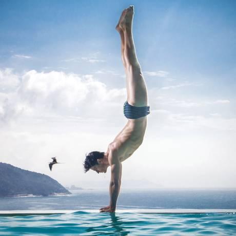 Marca gosta de usar modelos brasileiros em suas campanhas Foto: Leo Castro/Divulgação
