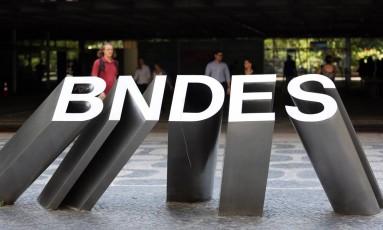 Sede do BNDES no Rio de Janeiro Foto: Lucas Tavares / Agência O Globo