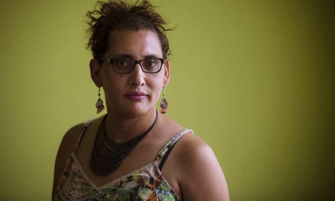A advogada transexual Maria Eduarda Aguiar da Silva Foto: Leo Martins / Agência O Globo
