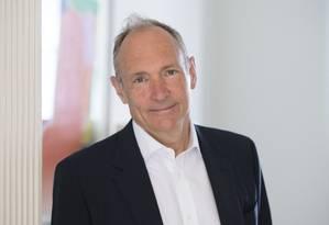 Tim Berners-Lee, criador da World Wide Web Foto: Henry Thomas / Web Foundation