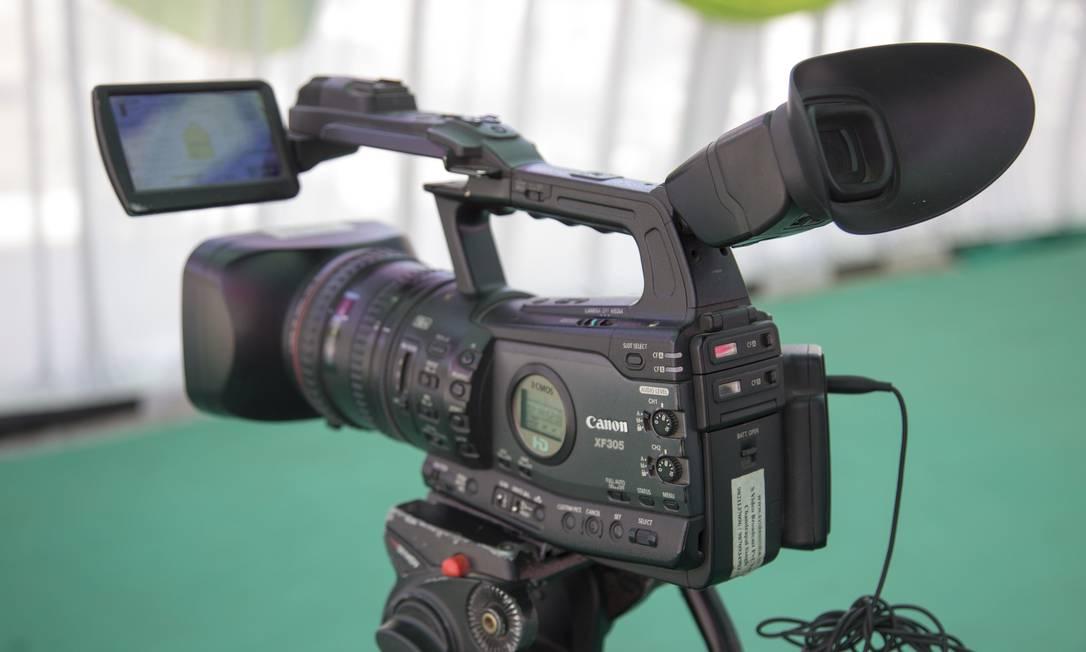 Câmera de video Foto: Arquivo