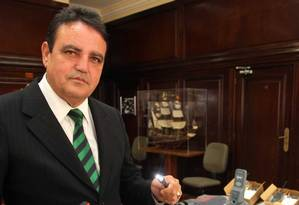O ex-secretário da Seap, coronel Cesar Rubens Foto: Marcelo Theobald/Extra