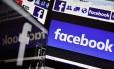O Facebook é a maior das redes sociais, com mais de 2 bilhões de usuários Foto: LOIC VENANCE / AFP