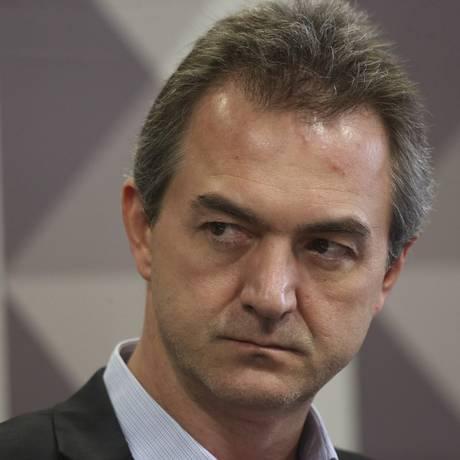 O empresário Joesley Batista depõe na CPMI da JBS, no Senado Federal Foto: Ailton de Freitas/Agência O Globo/28-11-2017
